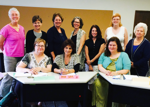 "St. Catherine University class of continuing education 2014, ""Jumpstart Your Memoirs Writing Business"""